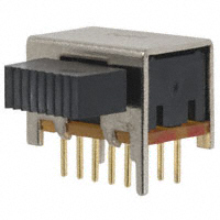 TE Connectivity ALCOSWITCH Switches - MSS4200RG - SWITCH SLIDE 4PDT 0.4VA 20V