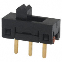 TE Connectivity ALCOSWITCH Switches - SSA12G - SWITCH SLIDE SPDT 0.4VA 20V
