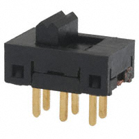 TE Connectivity ALCOSWITCH Switches - SSA22G - SWITCH SLIDE DPDT 0.4VA 20V