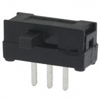 TE Connectivity ALCOSWITCH Switches - 1825282-1 - SWITCH SLIDE SPDT 100MA 12V