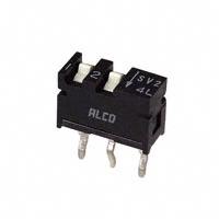 TE Connectivity ALCOSWITCH Switches - SSV02 - SWITCH SLIDE DIP SPST 0.40VA 20V