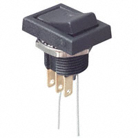 TE Connectivity ALCOSWITCH Switches - TRD11F10QCLR204 - SWITCH ROCKER SPDT 0.4VA 20V