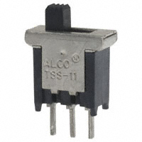TE Connectivity ALCOSWITCH Switches - TSS11DGPC - SWITCH SLIDE SPDT 0.4VA 20V