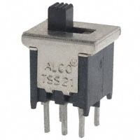 TE Connectivity ALCOSWITCH Switches - 1571982-7 - SWITCH SLIDE DPDT 0.4VA 20V