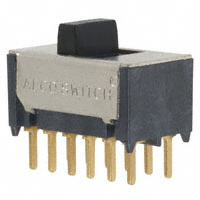 TE Connectivity ALCOSWITCH Switches - TSS41NGPC - SWITCH SLIDE 4PDT 0.4VA 20V