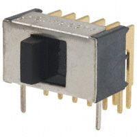 TE Connectivity ALCOSWITCH Switches - TSS41NGRA - SWITCH SLIDE 4PDT 0.4VA 20V