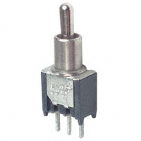 TE Connectivity ALCOSWITCH Switches - TT11EGPC1 - SWITCH TOGGLE SPDT 0.4VA 20V