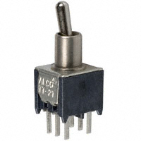 TE Connectivity ALCOSWITCH Switches - 1-1825219-1 - SWITCH TOGGLE DPDT 0.4VA 20V