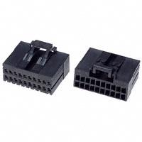 TE Connectivity AMP Connectors - 1-1318118-9 - CONN RECEPT 20POS DUAL KEY-X