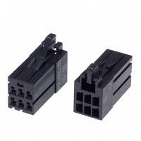 TE Connectivity AMP Connectors - 1-1318119-3 - CONN RECEPT 6POS DUAL KEY-X