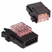 TE Connectivity AMP Connectors - 1-1473562-4 - CONN PLUG 4POS IDC RED RITS