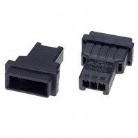 TE Connectivity AMP Connectors - 1-177648-3 - CONN HOUSING TAB 3POS KEY-X