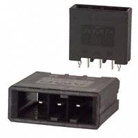 TE Connectivity AMP Connectors - 1-178136-5 - CONN HEADER 3POS STR KEY-X TIN