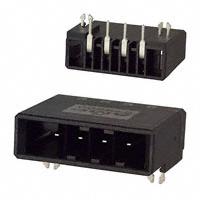 TE Connectivity AMP Connectors - 1-179277-5 - CONN HEADR 4POS R/A KEY-X TIN