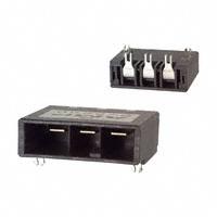 TE Connectivity AMP Connectors - 1-353081-2 - CONN HDR 3POS R/A KEY-X 15GOLD