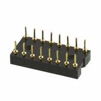 TE Connectivity AMP Connectors - 516-AG10D - CONN IC DIP SOCKET 16POS GOLD