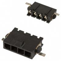 TE Connectivity AMP Connectors - 2-1445057-4 - CONN HEADER 3MM 4POS R/A TIN SMD