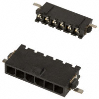 TE Connectivity AMP Connectors - 2-1445100-6 - CONN HEADER 6POS R/A GOLD SMD