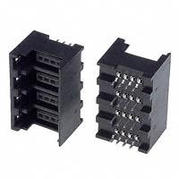TE Connectivity AMP Connectors - 1473567-4 - CONN HEADER 4POS 4ROW VERT PCB