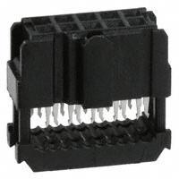 TE Connectivity AMP Connectors - 1658621-1 - CONN IDC SKT 10POS W/POL 15 GOLD