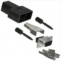 TE Connectivity AMP Connectors - 1658654-1 - CONN D-SUB RECEPT 9POS W/O CONT