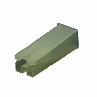 TE Connectivity AMP Connectors - 172076-1 - CONN RCPT HSG 0.25 1POS NATURAL