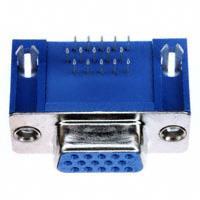 TE Connectivity AMP Connectors - 1734344-1 - CONN DSUB HD RCPT 15POS R/A SLDR