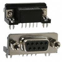 TE Connectivity AMP Connectors - 1734354-1 - CONN D-SUB RCPT 9POS R/A SOLDER