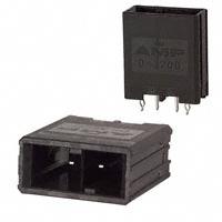 TE Connectivity AMP Connectors - 1-917337-5 - CONN HDR 2POS VERT KEY-X TIN
