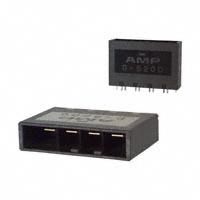 TE Connectivity AMP Connectors - 1-917542-3 - CONN HEADER 4POS VERT KEY-X 30AU