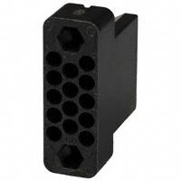 TE Connectivity AMP Connectors - 201298-1 - CONN HOUSING RECEPT 14POS BLACK