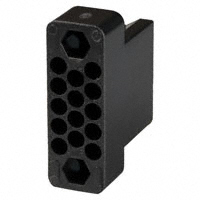 TE Connectivity AMP Connectors - 201355-1 - CONN HOUSING PLUG 14POS BLACK