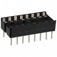 TE Connectivity AMP Connectors - 2-640358-2 - CONN IC DIP SOCKET 16POS GOLD