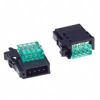 TE Connectivity AMP Connectors - 4-1473562-4 - CONN PLUG 4POS IDC GREEN RITS