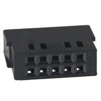 TE Connectivity AMP Connectors - 487223-1 - CONN FFC RCPT HSG 10POS 2.54MM