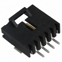 TE Connectivity AMP Connectors - 5-147278-3 - CONN HEADER 4POS R/A SMD GOLD