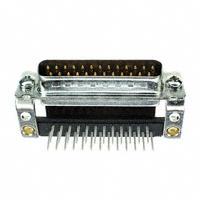 TE Connectivity AMP Connectors - 5745436-3 - CONN D-SUB PLUG 25POS R/A SOLDER