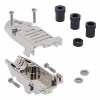 TE Connectivity AMP Connectors - 5748677-1 - CONN BACKSHELL DB9 METAL PLATED