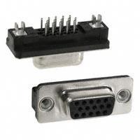 TE Connectivity AMP Connectors - 5749374-3 - CONN D-SUB HD RCPT 15P VERT SLDR