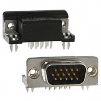 TE Connectivity AMP Connectors - 5749767-1 - CONN DSUB HD PLUG 15POS R/A SLDR