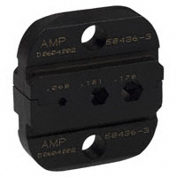 TE Connectivity AMP Connectors - 58436-3 - DIESET HEXCRIMP RG174, 179, 180