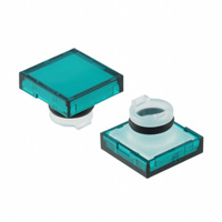 TE Connectivity ALCOSWITCH Switches - 64S5 - LENS SET SQUARE GREEN 3PCS