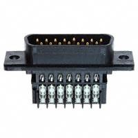 TE Connectivity AMP Connectors - 745207-7 - CONN D-SUB PLUG 15POS STR IDC