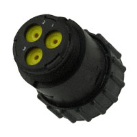 TE Connectivity AMP Connectors - 788188-1 - CONN PLUG HSNG MALE 3POS INLINE