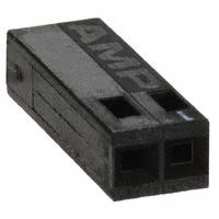 TE Connectivity AMP Connectors - 87499-3 - CONN HOUSING 2POS .100 SINGLE