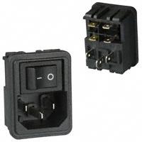 TE Connectivity Corcom Filters - 1609112-8 - PWR ENT MOD RCPT IEC320-C14 PNL