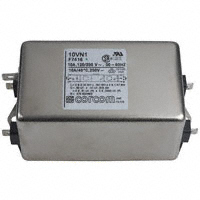 TE Connectivity Corcom Filters - 10VN1 - LINE FILTER 250VAC 10A CHASS MNT