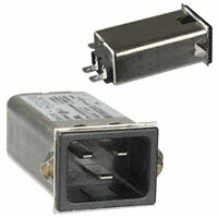 TE Connectivity Corcom Filters - 6609007-5 - PWR ENT RCPT IEC320-C20 PANEL QC
