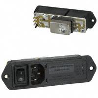 TE Connectivity Corcom Filters - 2-6609129-8 - PWR ENT MOD RCPT IEC320-C14 PNL
