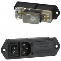TE Connectivity Corcom Filters - 1-6609130-3 - PWR ENT MOD RCPT IEC320-C14 PNL